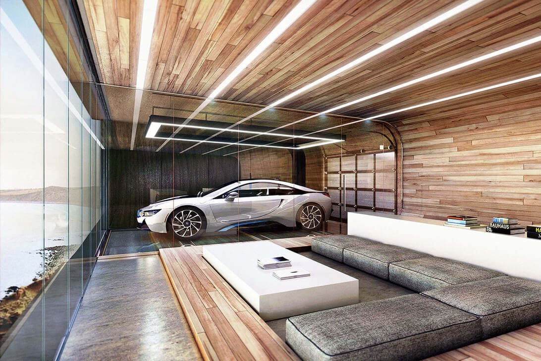 Video: Park Your Car Inside Your 30-story Home 1