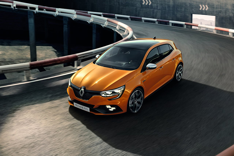 cars,sxdrv,6-speed EDC dual-clutch,6-speed manual,390 Nm,205 kW,1.8 litre,Four-wheel-steering,hot hatch,RS Trophy,RS Sport,RS Cup,Renault Megane RS,