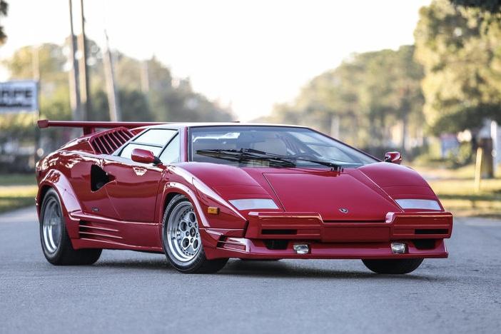 SXdrv, Automotive, Cars, Lamborghini Countach 25th Anniversary, Lamborghini,Video,