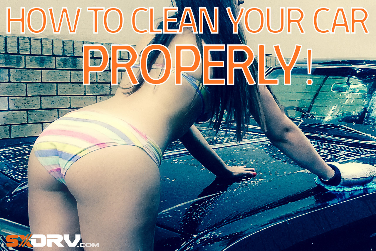 How to clean your car properly... Wax on, Wax off! 1