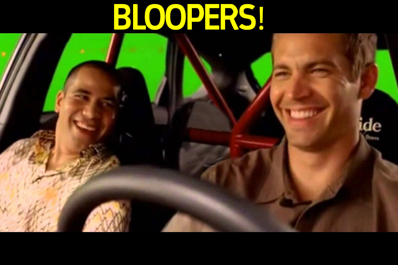 sxdrv,bloopers,movies,vin diesel,paul walker,fast and furious,