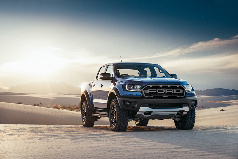 Ford Ranger Raptor,performance bakkie,Thailand launch,F150 Raptor pickup,strengthened components,Race Red, Lightning Blue,Conquer Grey,ground clearance,suspension,Fox Racing Shox,high-strength steel,Baja Rally,Sync3 connectivity,2.0-litre bi-turbo diesel,10-speed automatic transmission,sxdrv,