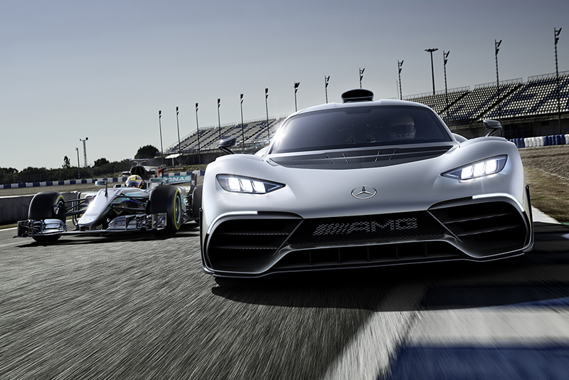 sxdrv,electric motors,Turbocharged 1.6-litre V6,downforce,1000hp,Formula 1 technology,Project One,Mercedes-AMG,