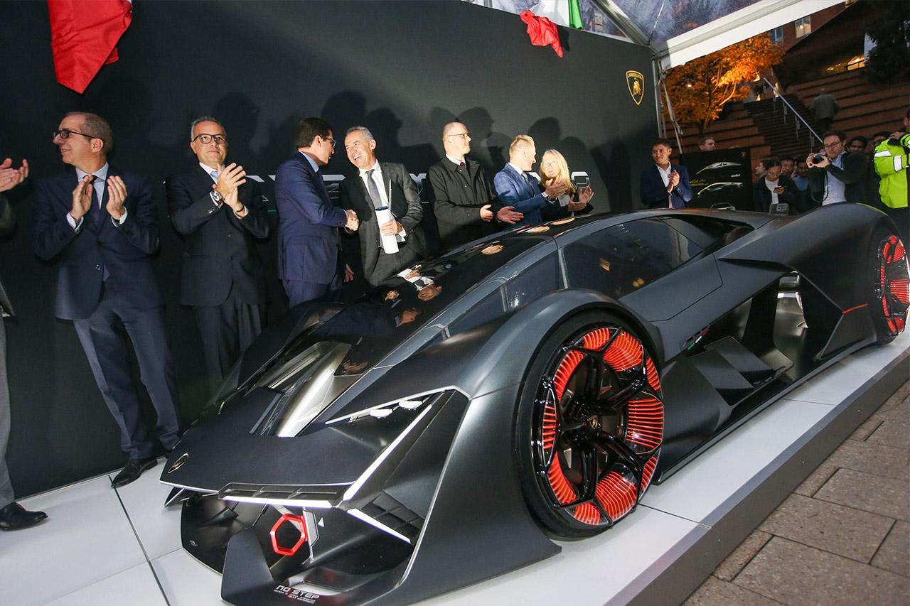 Lamborghini Terzo Millennio Concept Mit Hybrid Electric 2019 2018