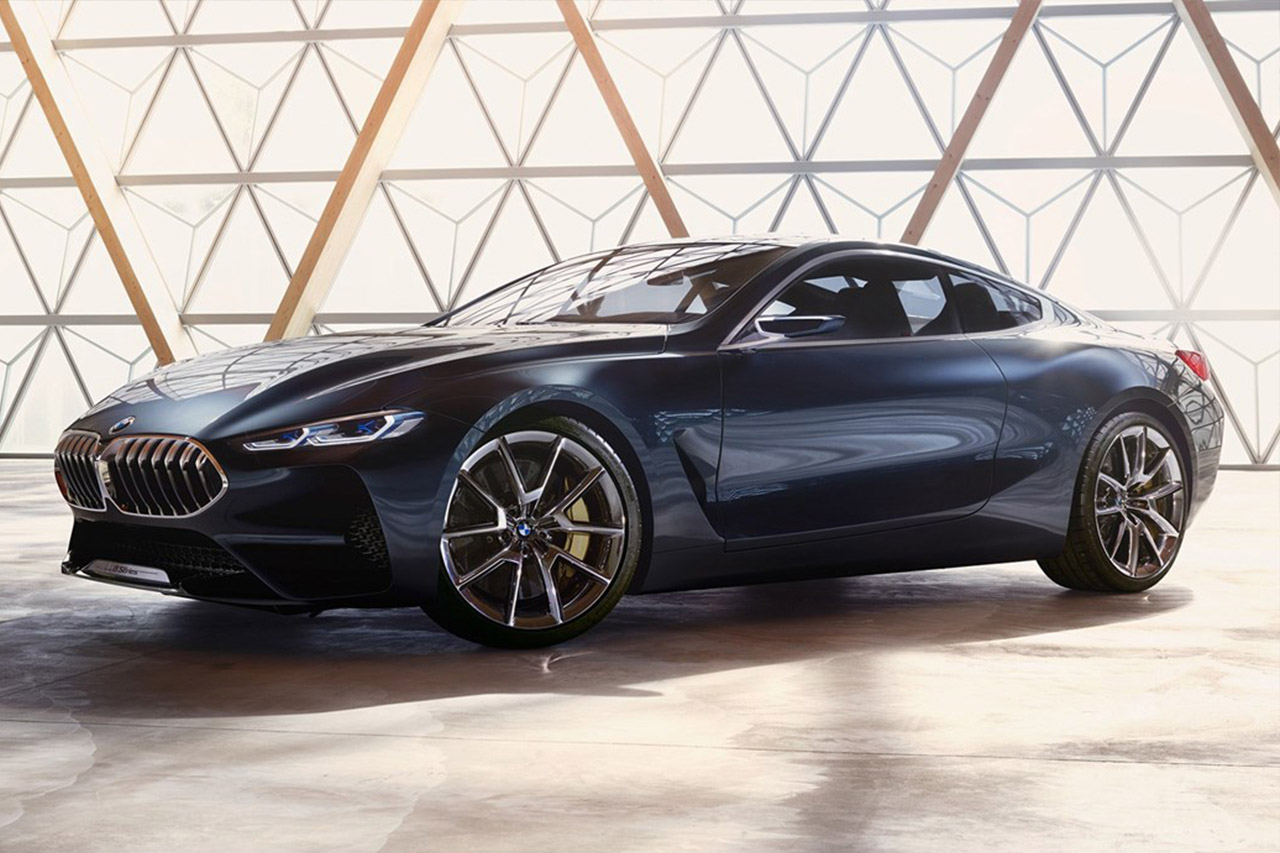 sxdrv,m6,m8,sportscar,sedan,coupe,saloon,grand tour,v12,2018,concept,8 series,bmw,