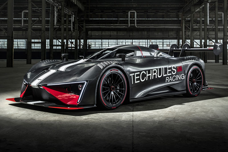 Video: Techrules Ren RS – a diesel-hybrid track day hypercar that aims to squash your organs 1