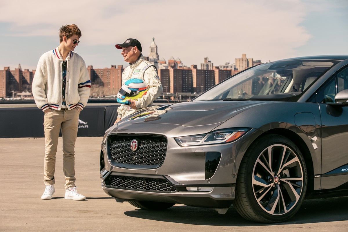 Baby Driver Takes The Jaguar I-pace For A Spin 1