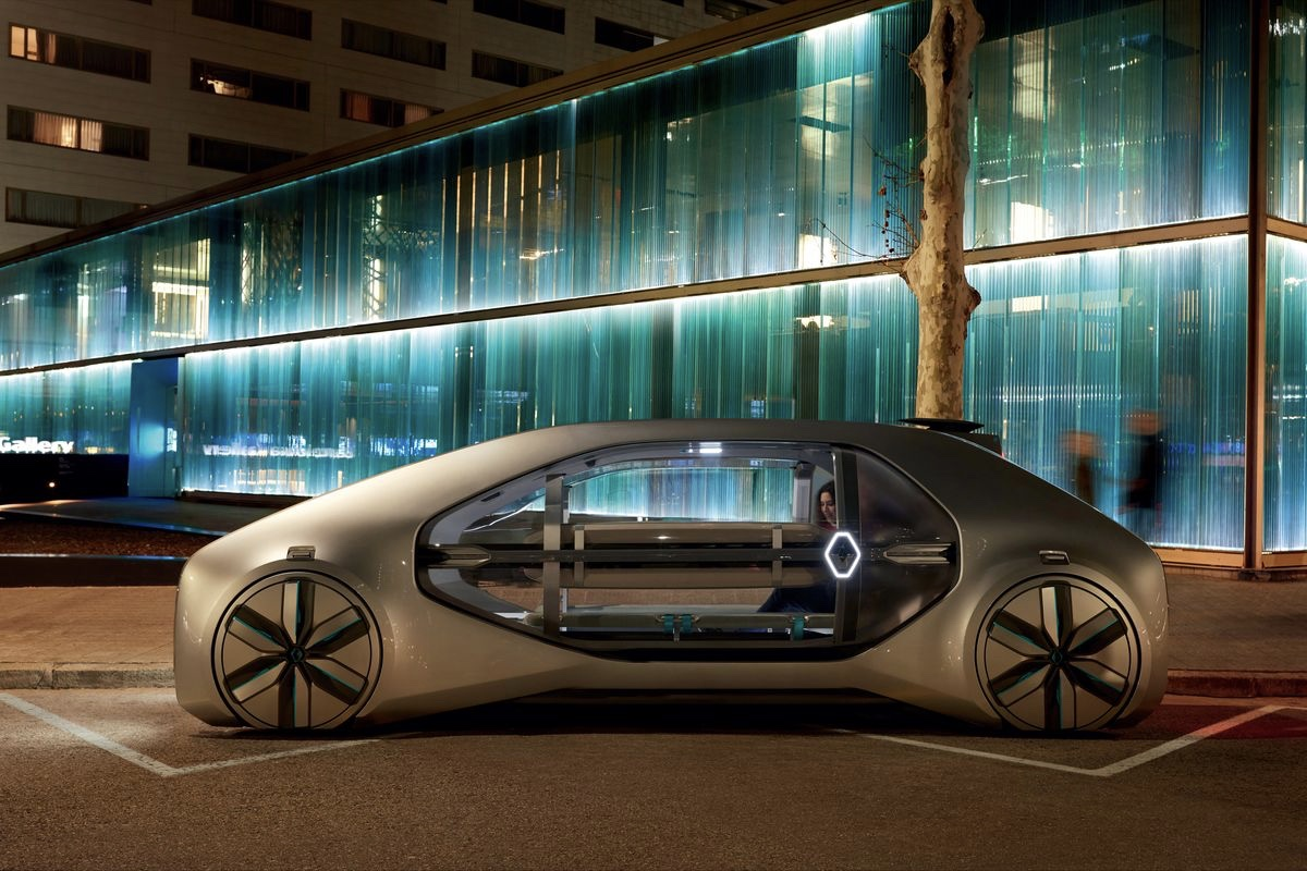 Uber,Renault autonomous vehicles,Renault EZ–GO,Renault,Cars,Automotive,SXdrv,