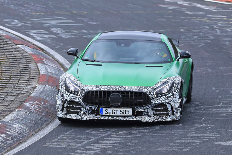 Mercedes Amg Confirms A Track-focussed Upgrade For The Gt R 1