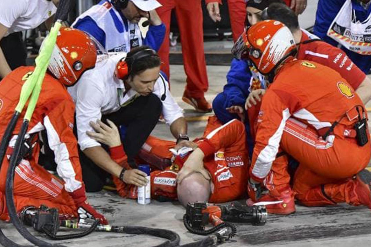 F1: Vettel Holds Off Bottas For Bahrain Win 4