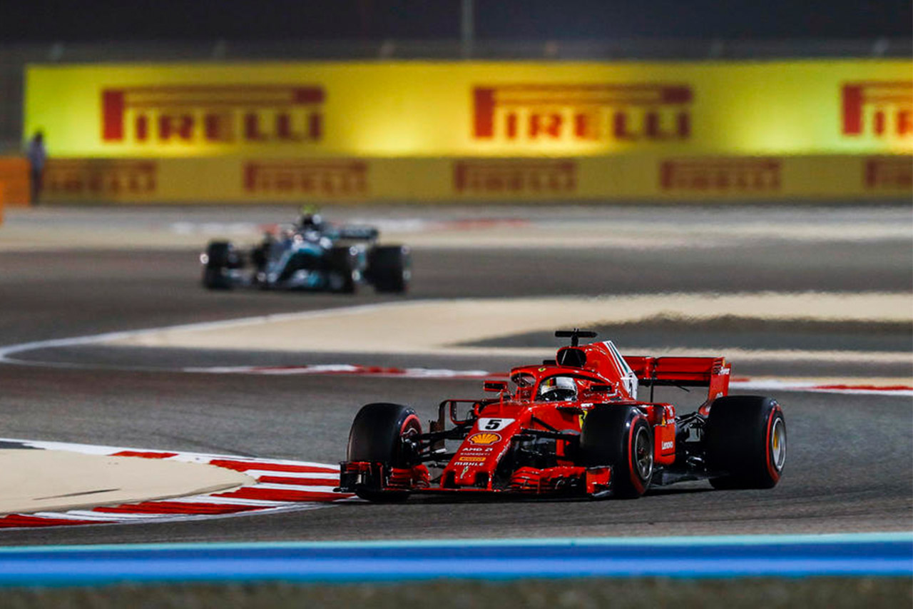 F1: Vettel Holds Off Bottas For Bahrain Win 5