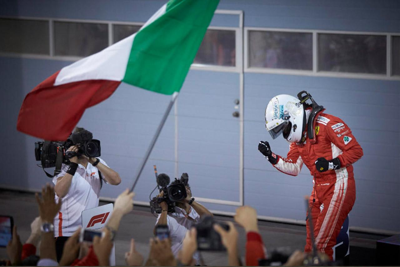 F1: Vettel Holds Off Bottas For Bahrain Win 6