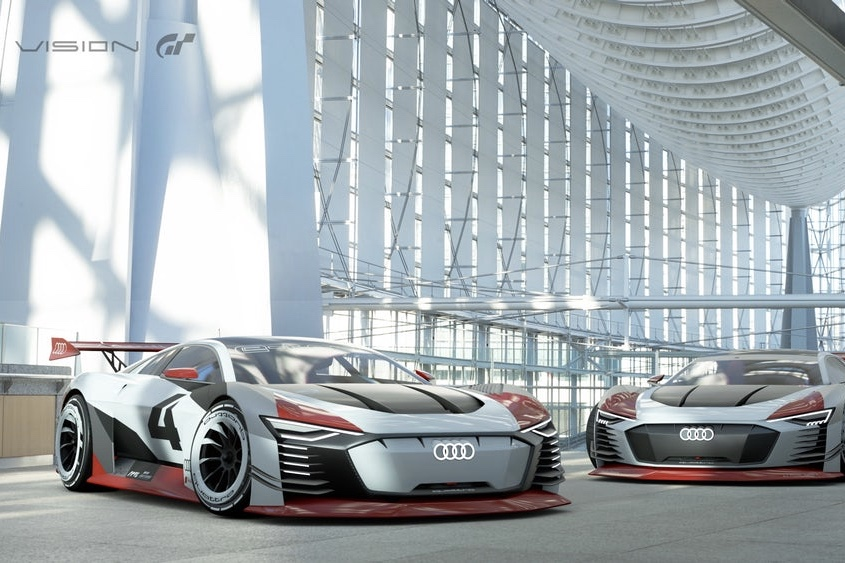 The Audi E-tron Vision Gran Turismo Is Track-ready 1