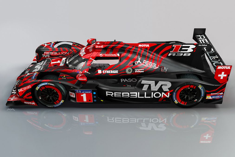 TVR returns to LeMans as a technical partner to Rebellion Racing 1