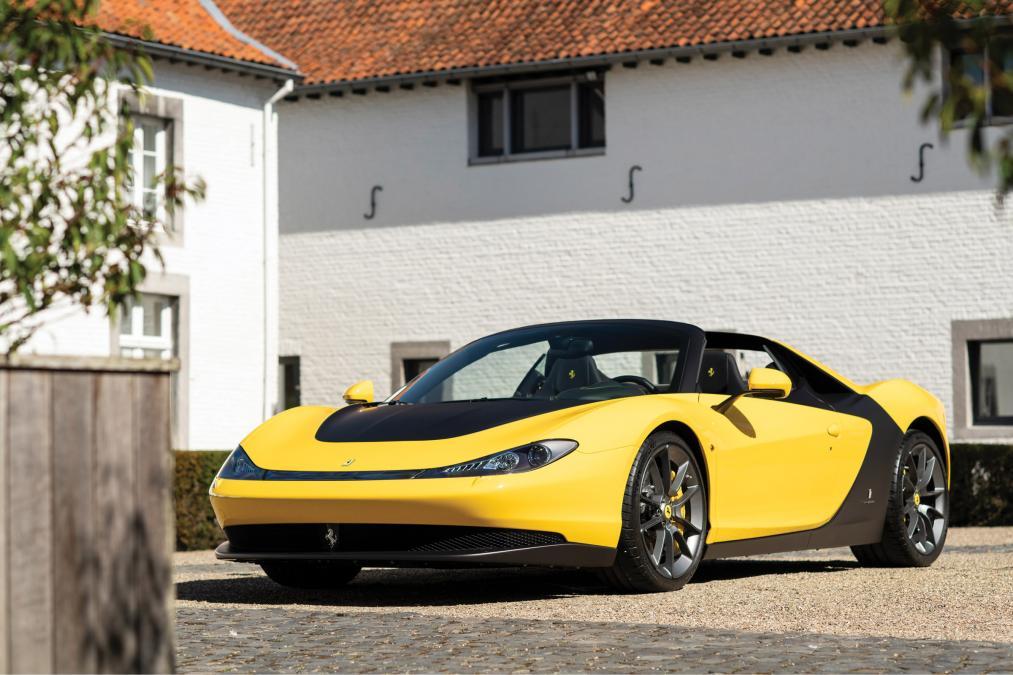 One of six Ferrari Sergio