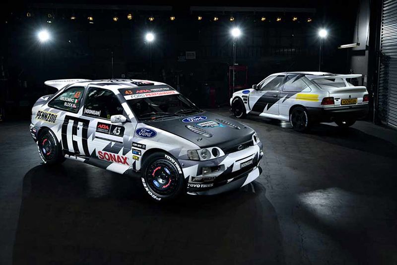 Video: Ken Block will race a vintage 1993 Ford Escort RS Cosworth in stage rallies this year 1