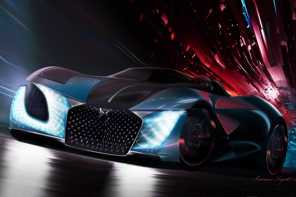 future,2035,2018,news,hypercar,supercar,concept,sxdrv,electric vehicle,ev,x e-tense,ds,