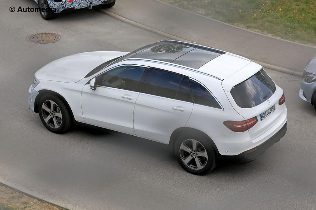 Mercedes GLC facelift spied for the first time 2