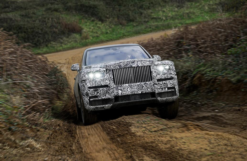 2018 Rolls-royce Cullinan Suv To Be Revealed Next Week 1