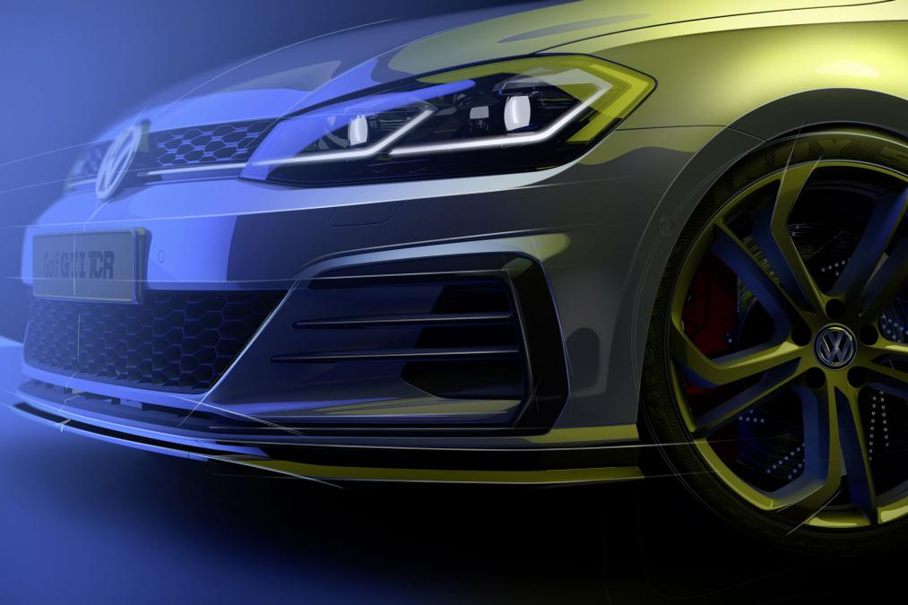 New Volkswagen Golf Gti Tcr Suspected To Debut At Wörthersee 2