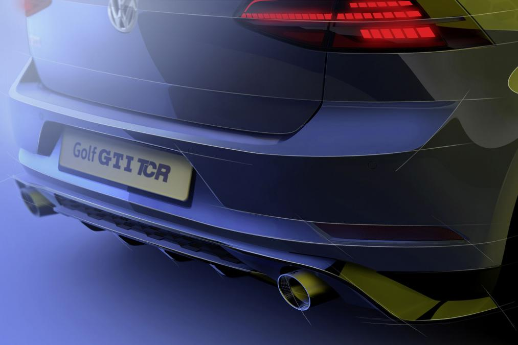 New Volkswagen Golf Gti Tcr Suspected To Debut At Wörthersee 3