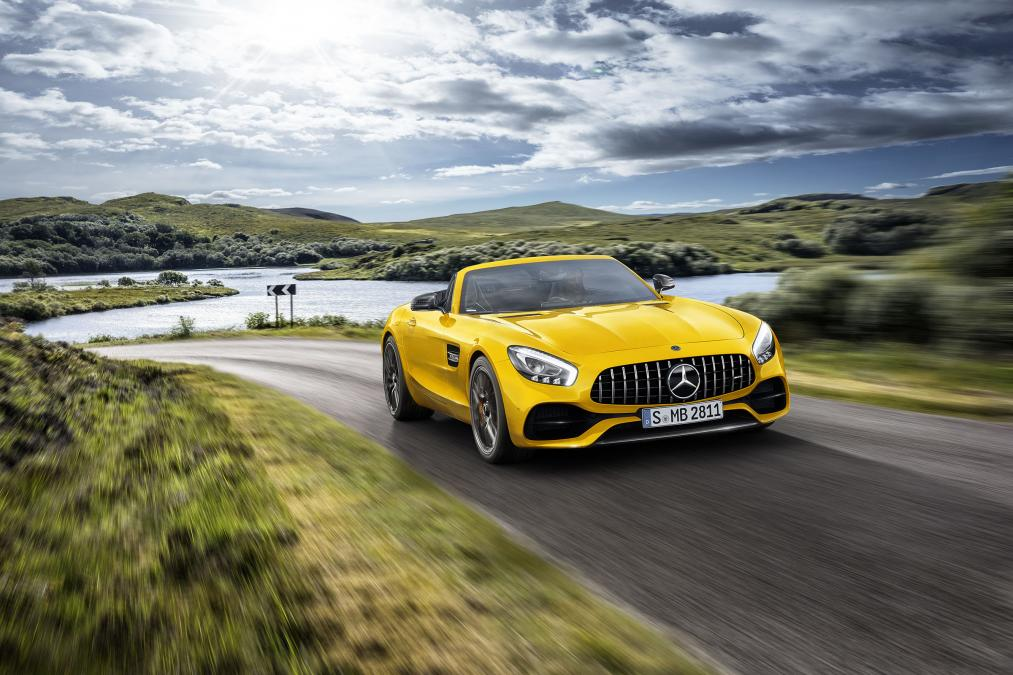 New Mercedes-AMG GT S Roadster unveiled 1
