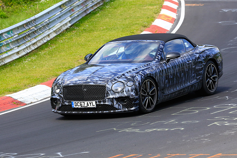 Bentley Continental Gtc Gloves-up For Its Fight With Aston