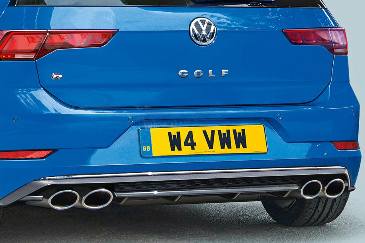 New 2020 Volkswagen Golf R to be the fastest ever with 400bhp 2