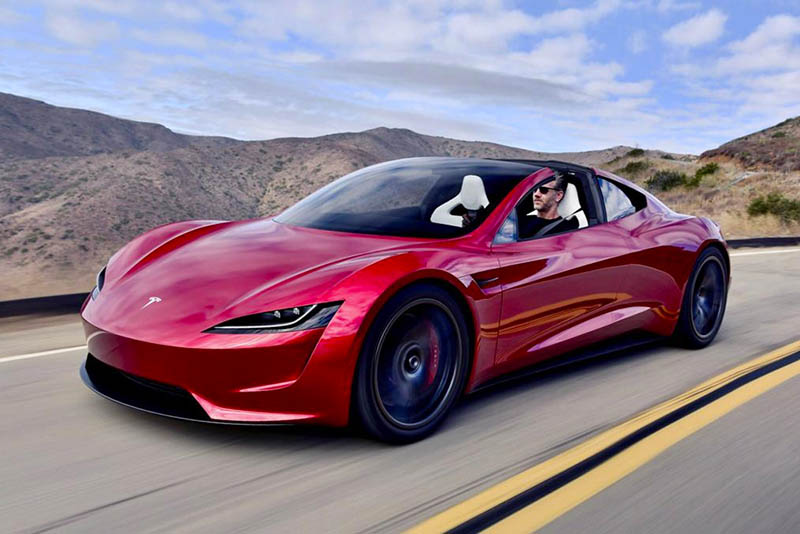 Surprise! The new 2020 Tesla Roadster makes waves 1
