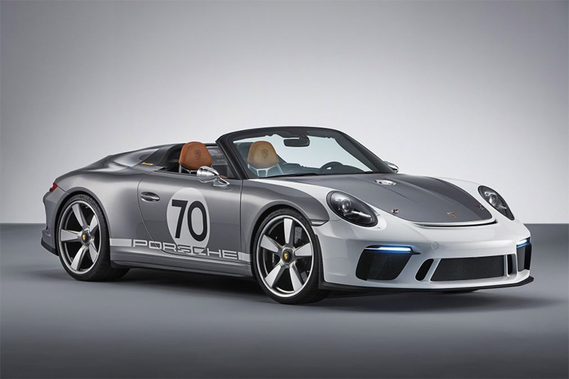 Porsche reveals a 911 Speedster Concept to celebrate their 70th birthday 1