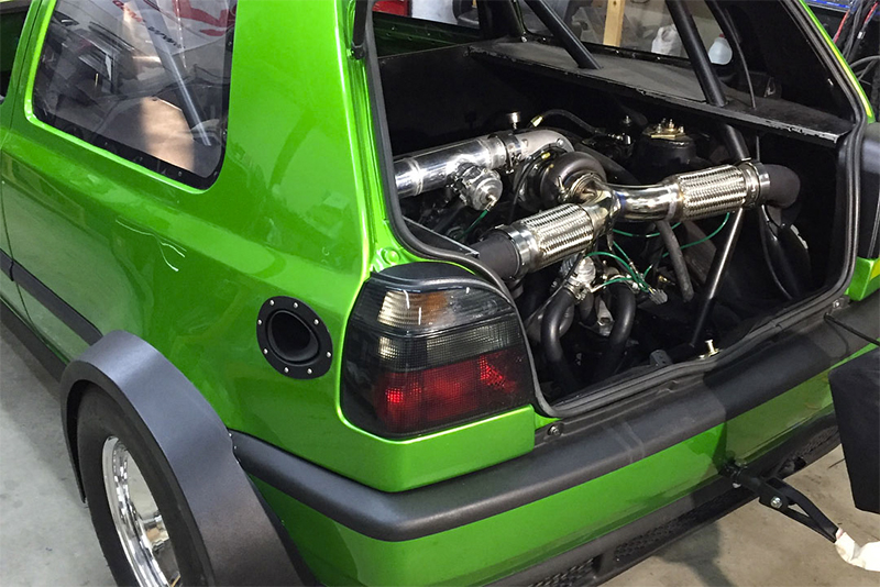 A 1600bhp Markiii Vw Golf Vr6... Er... Vr12? It's Faster Than You Think! Image - 2