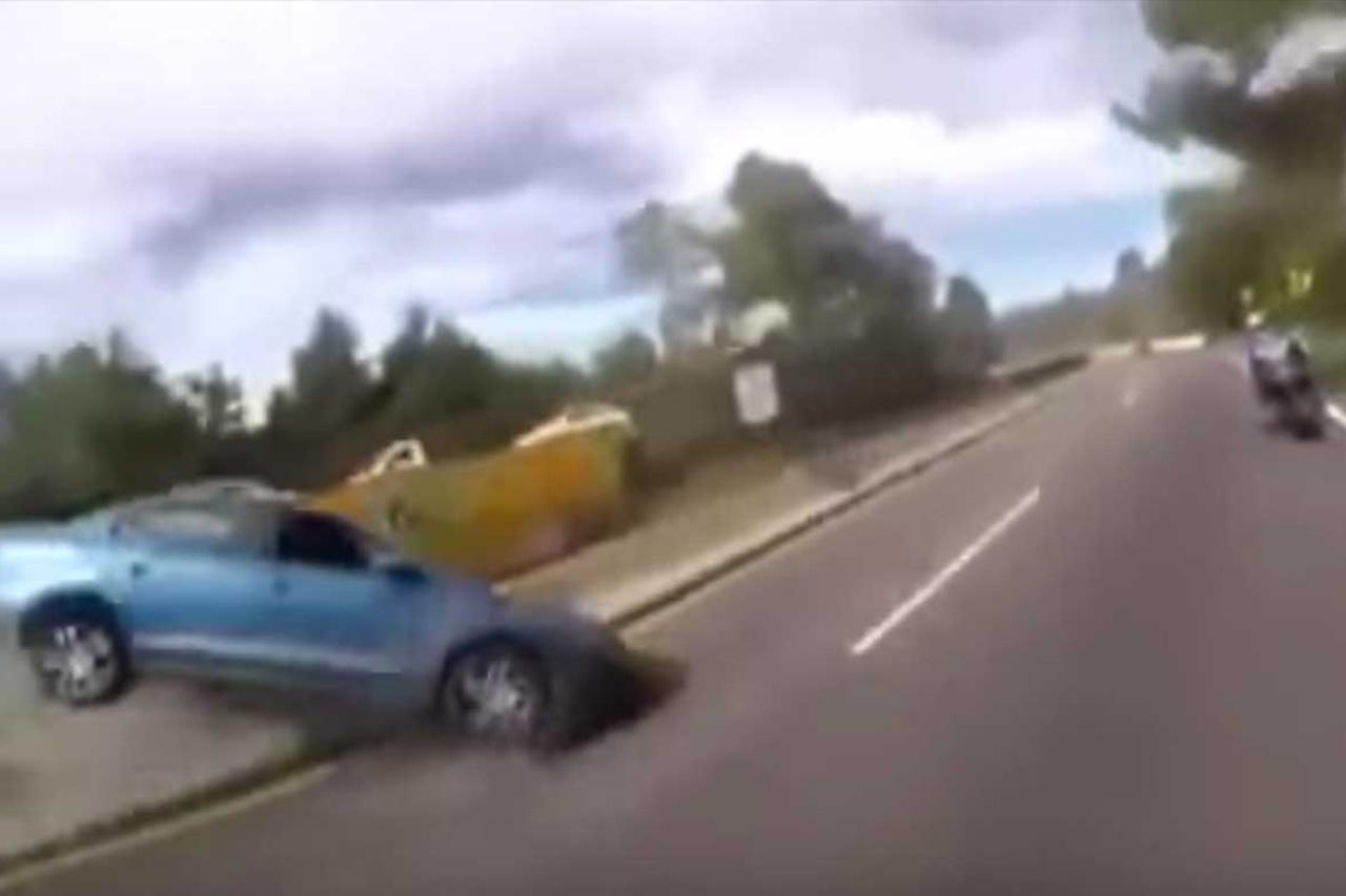 Girlfriend Pulls Up Emergency Break On Highway! 1