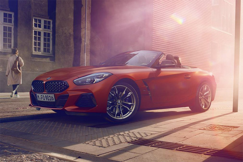 New 2019 BMW Z4 M40i Roadster Unveiled At Pebble Beach 1