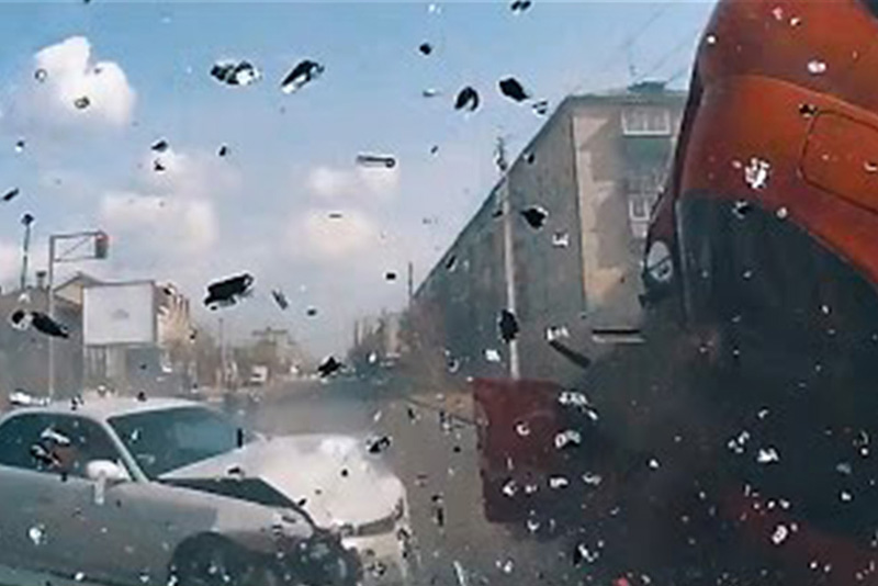 This Dashcam Compilation Will Have You Laughing, Cringing and Scratching Your Head! 1