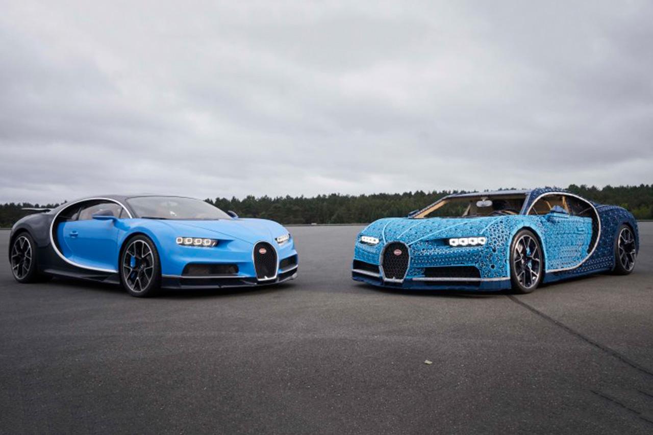 Lego creates full-size, driveable Bugatti Chiron replica 2