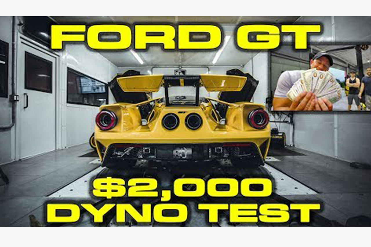 2018 Ford GT Dyno Results With $2000 Cash On The Line 1