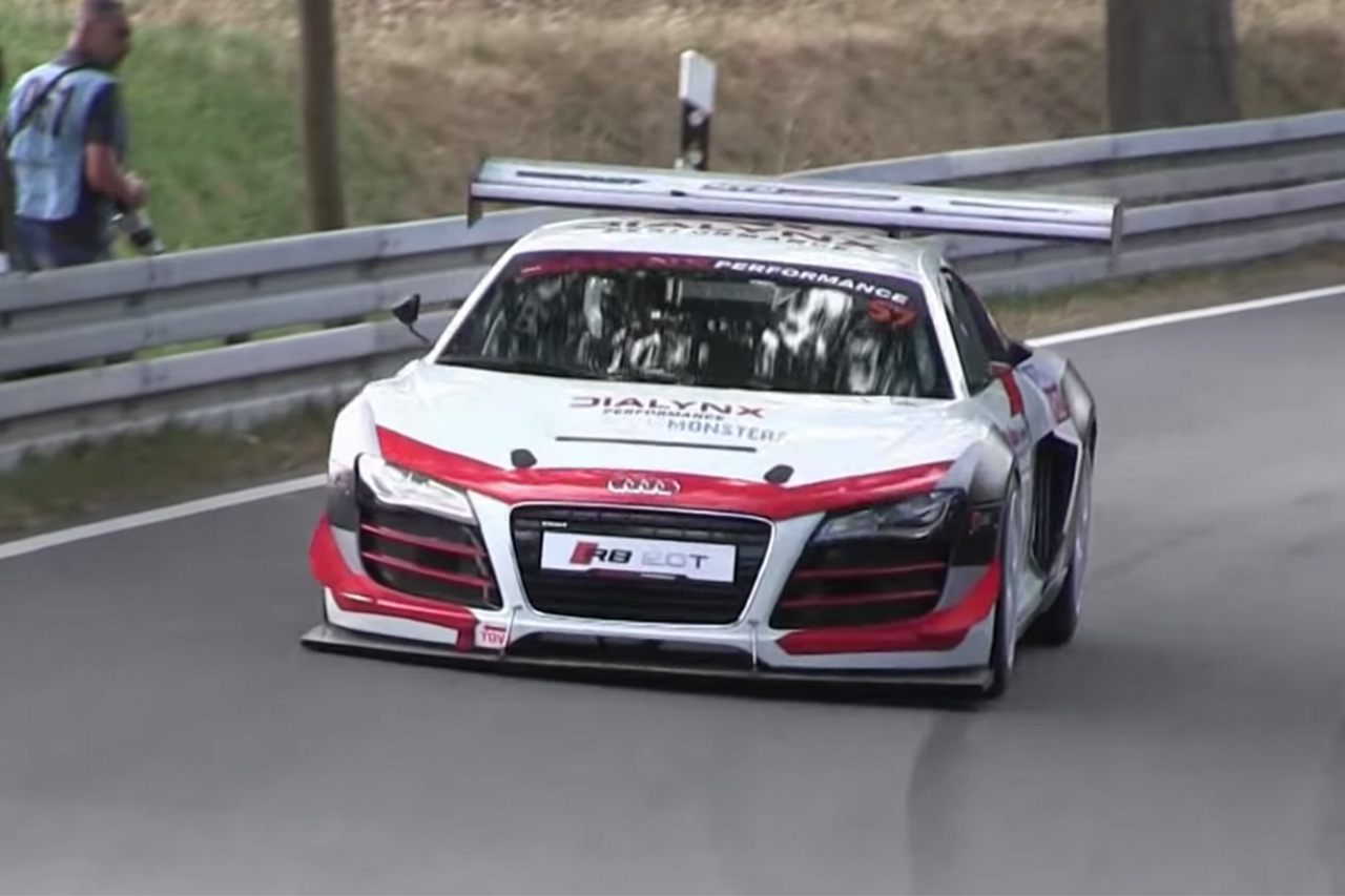 Prepare To Be Amazed By This Inline-Four Audi R8 1