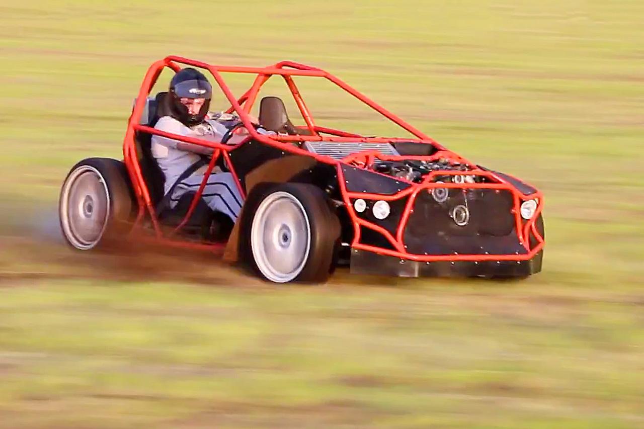Subaru WRX STI Powered Go-Kart