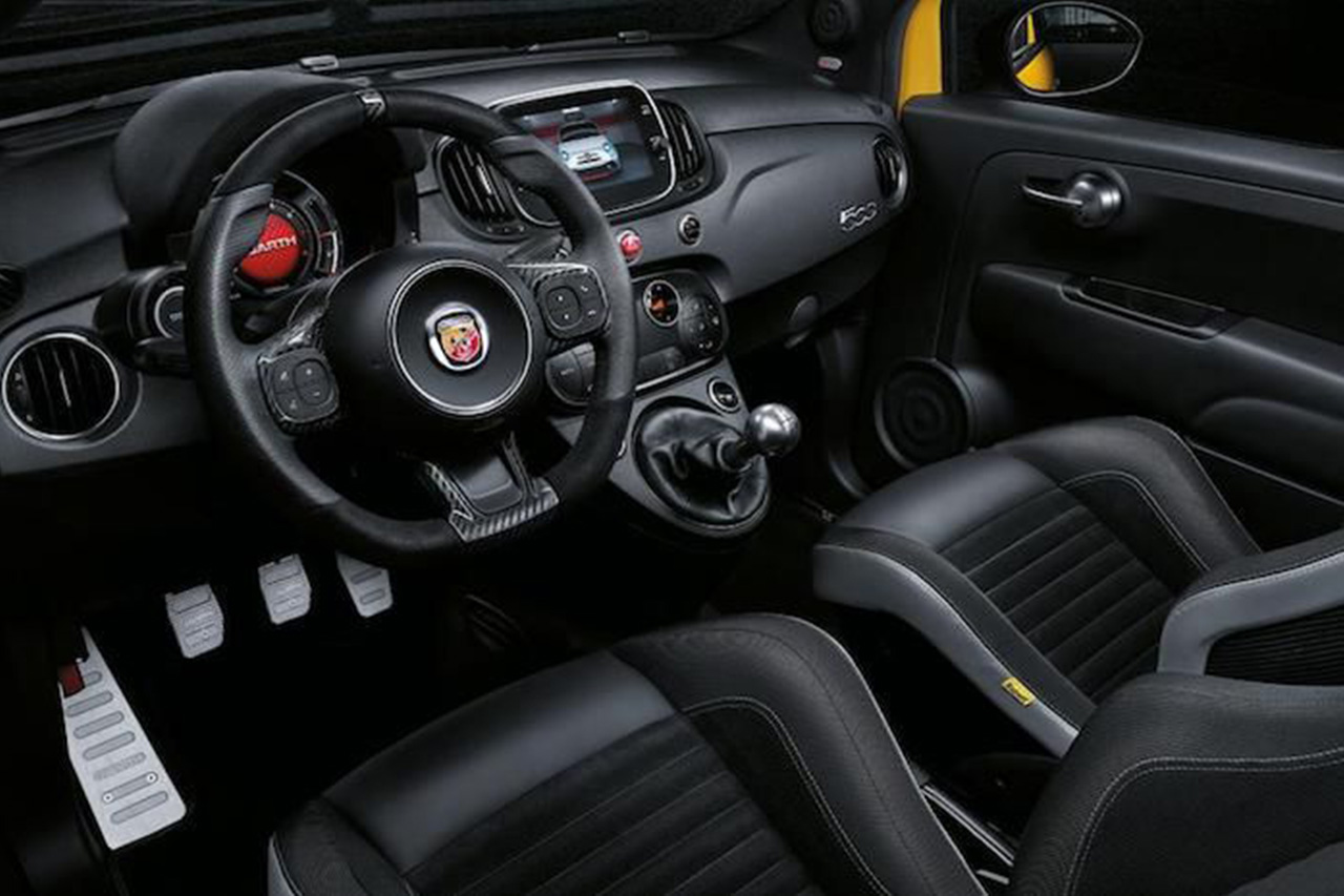 The Updated Abarth 595 Is Here With Added Volume 3