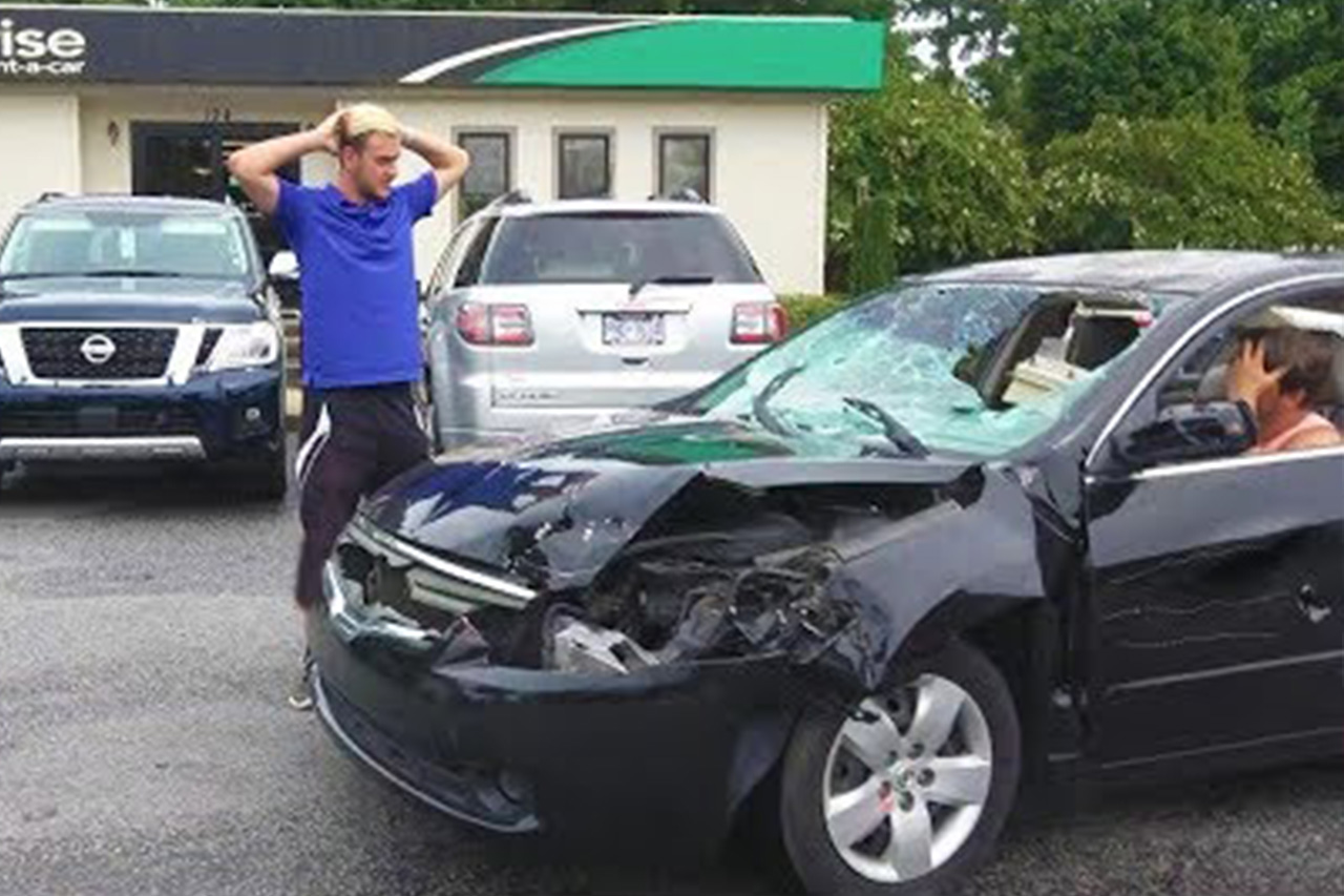 Destroying Rental Cars: A Prank 1