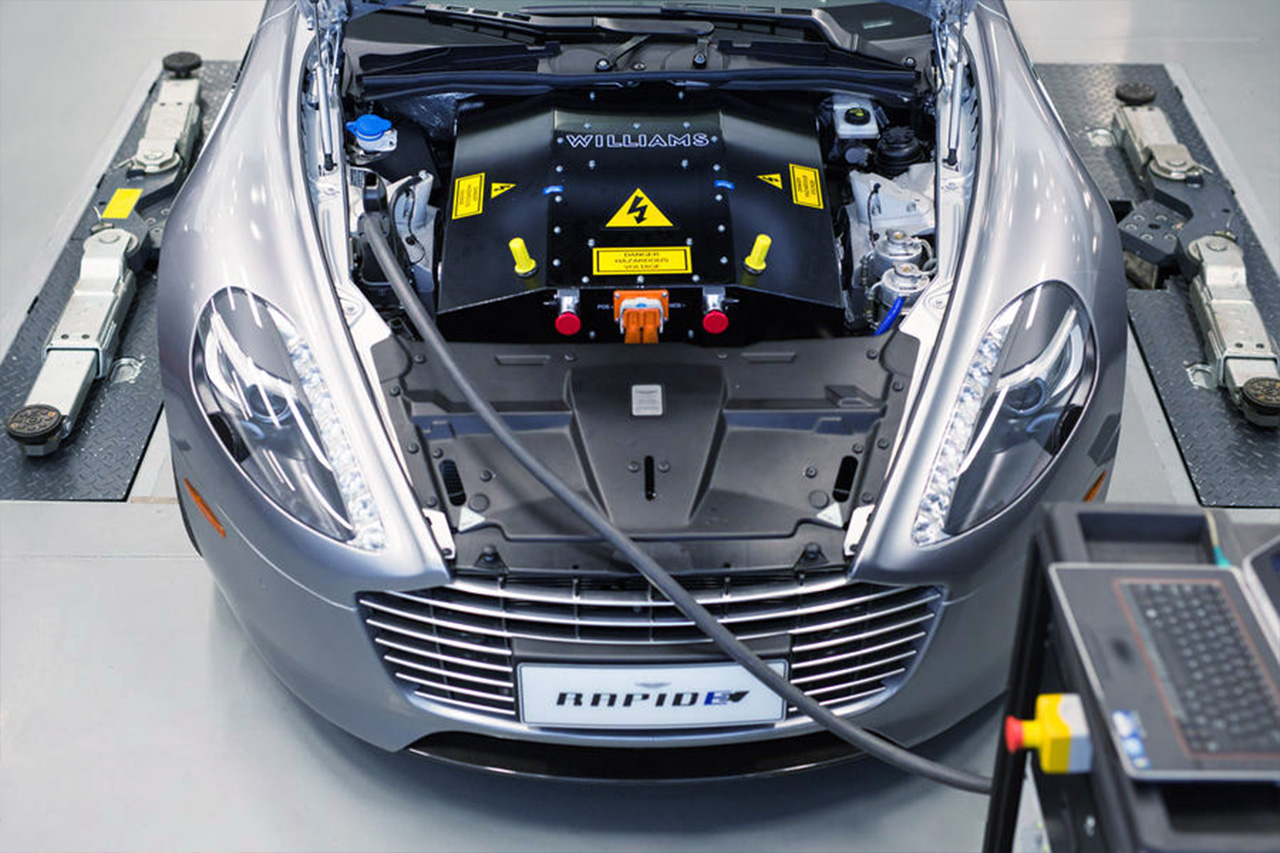 The New, Battery-Powered Aston Martin Rapide E Has Over 602bhp 2