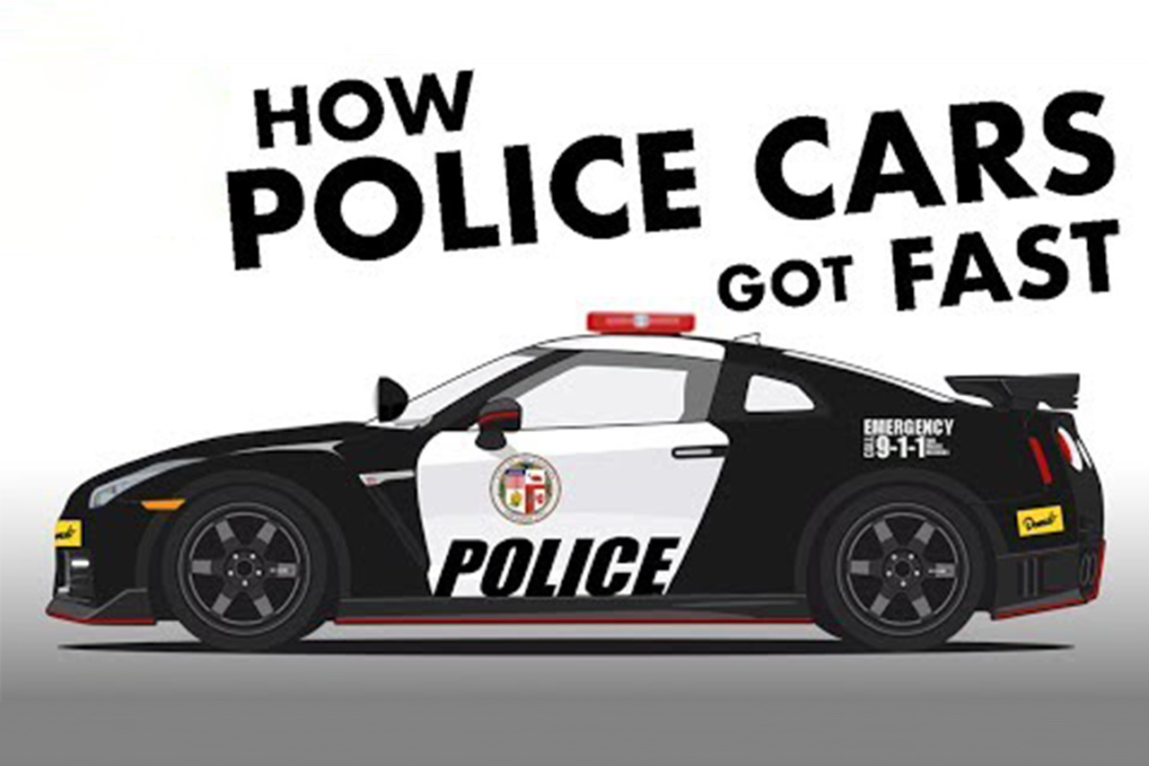History Of US Police Cars 1