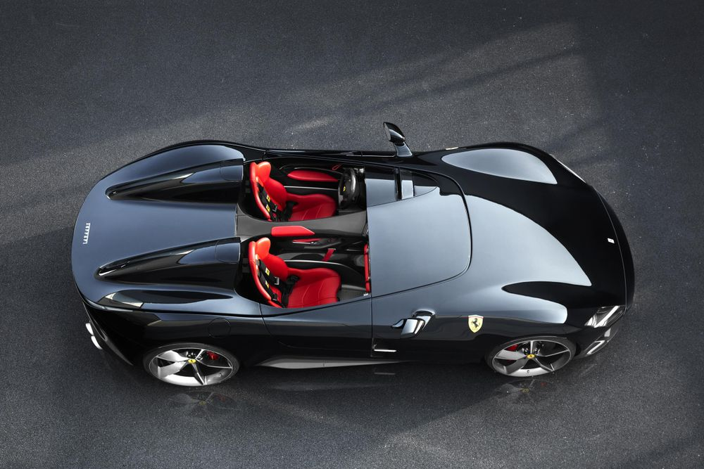The Ferrari SP1 Is A Single-Seater Speedster Beauty With 812 Guts 1