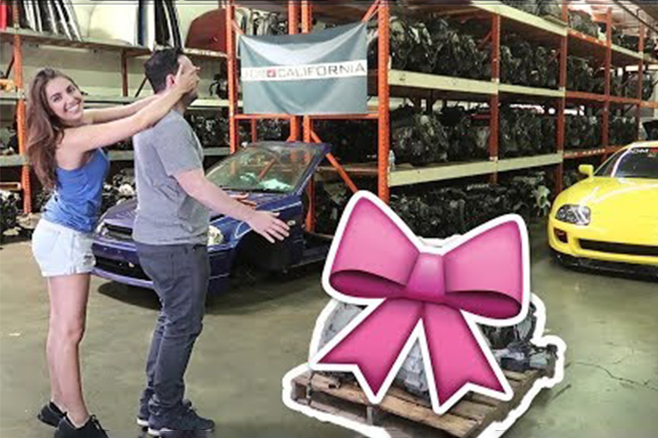 Chick Buys Best Friend His Dream Engine RB26 1