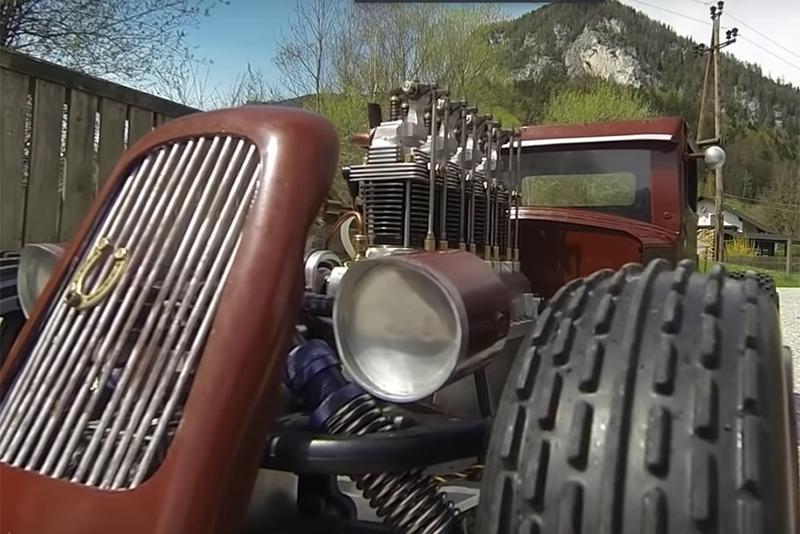 Mini engines that