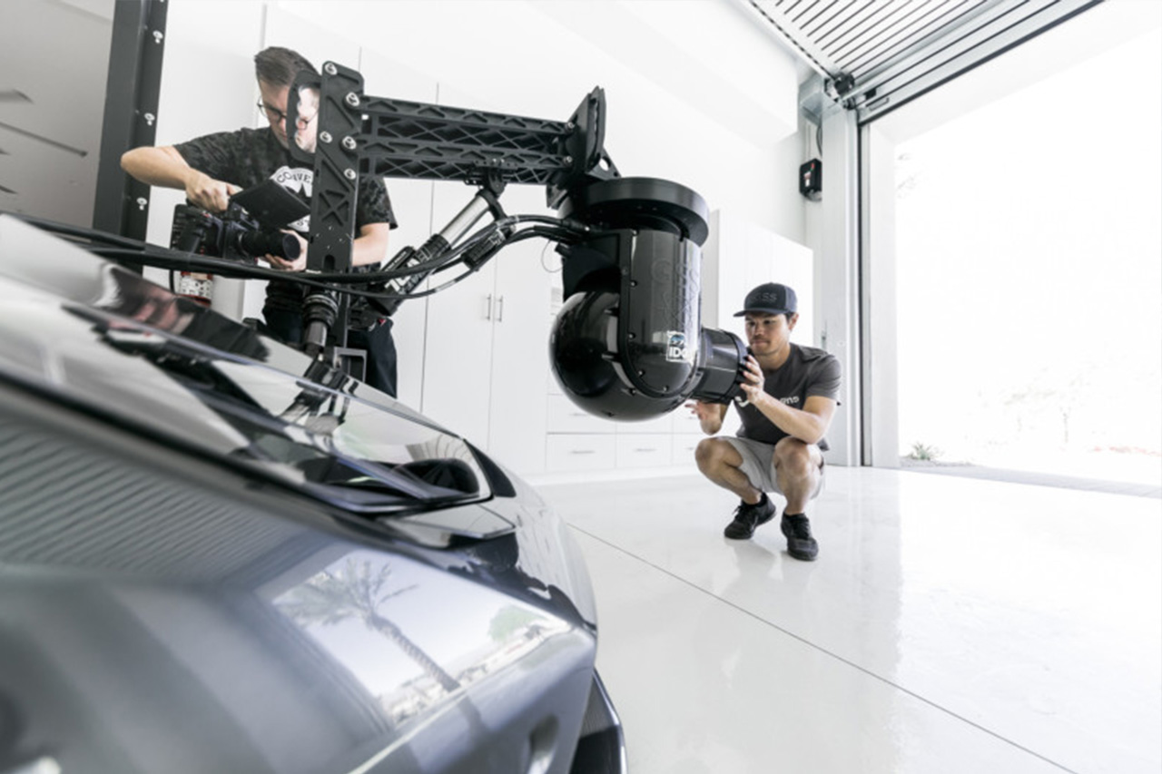 Crazy Camera Set Up On A Lamborghini Huracan 2