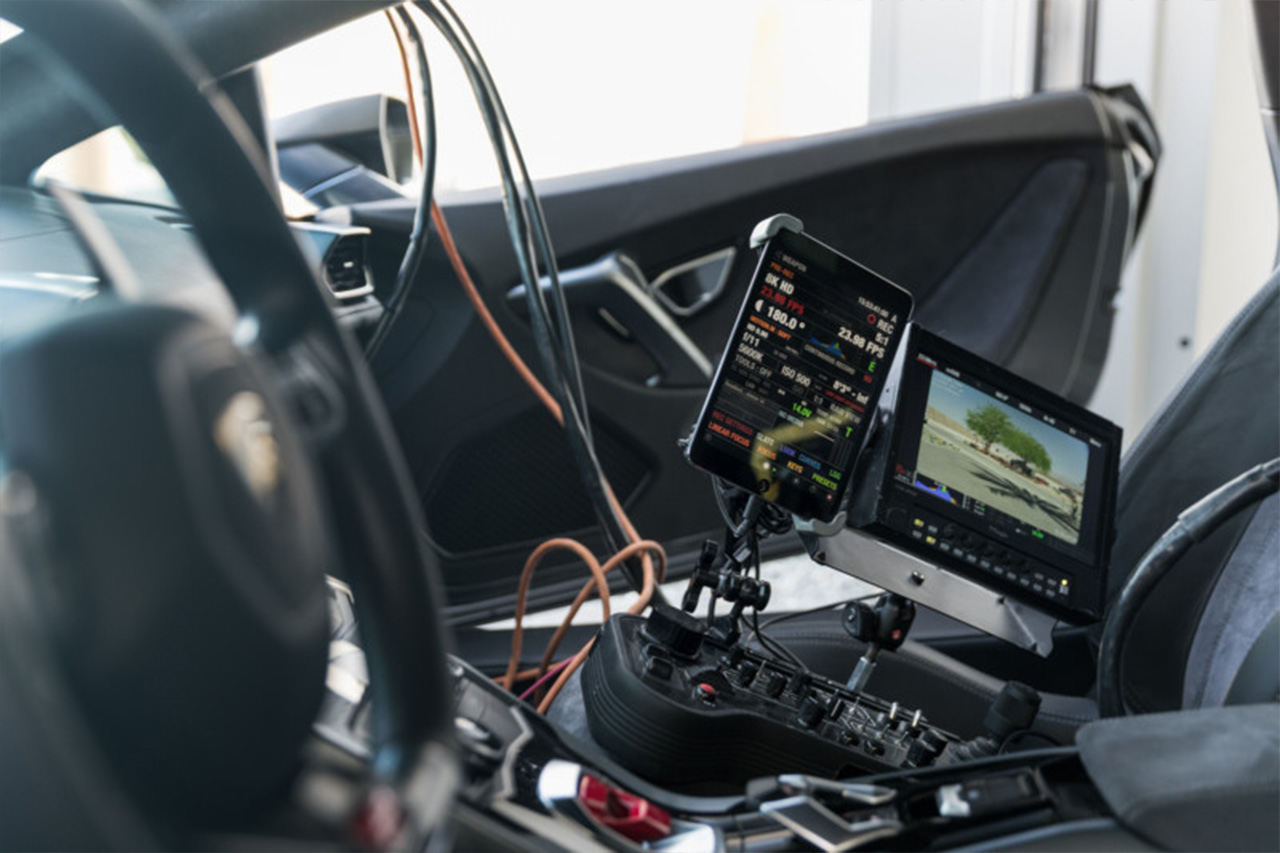 Crazy Camera Set Up On A Lamborghini Huracan 3