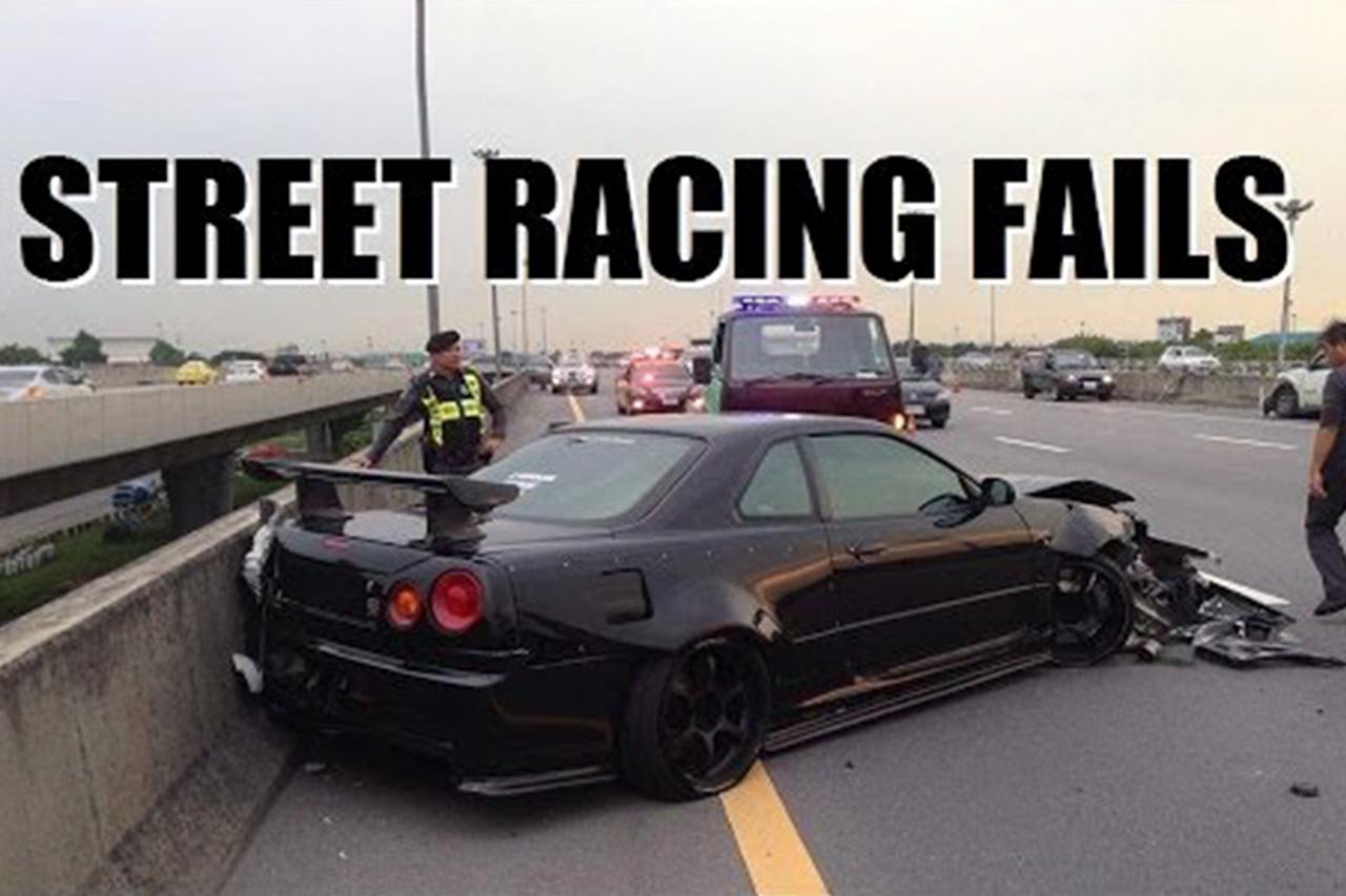 Worst Street Racing Fails Caught On Camera! 1
