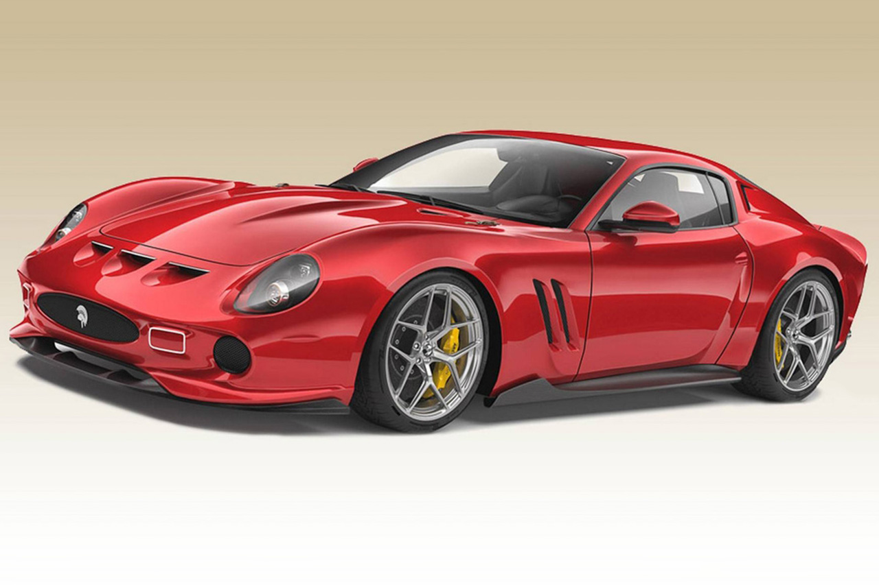 Ferrari 250 GTO Reimagined By Ares Design 1