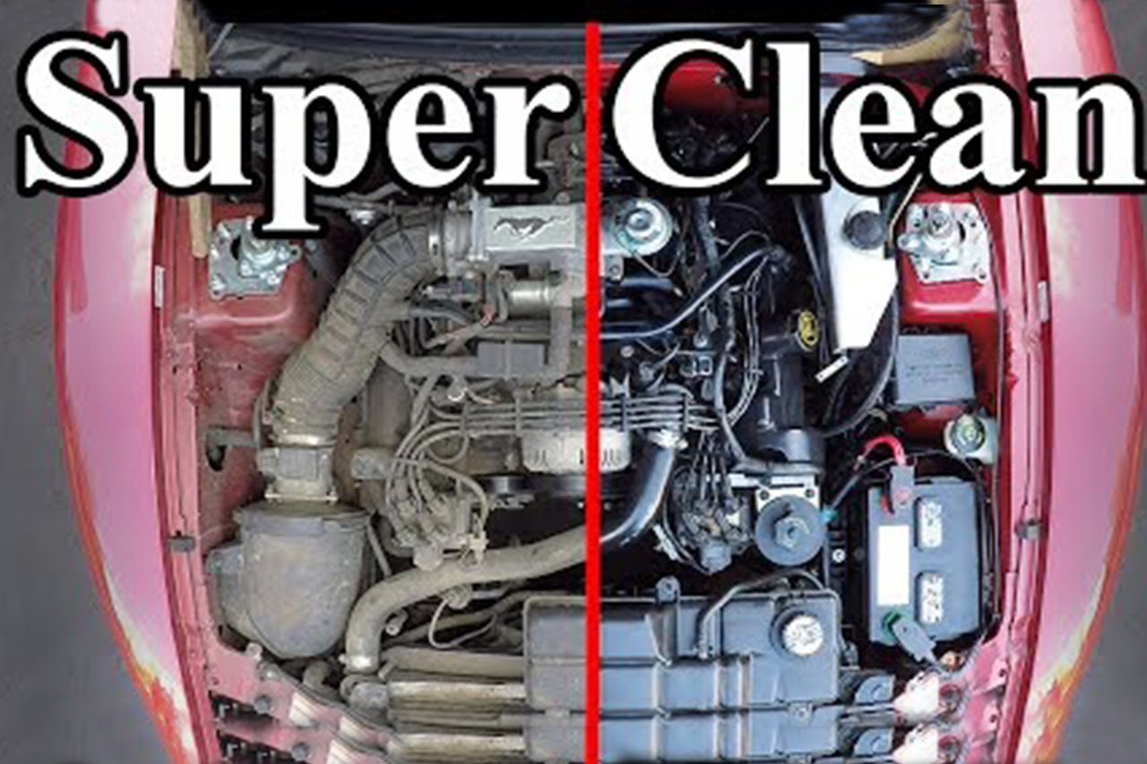 In-depth Guide To Cleaning Your Engine Bay 1